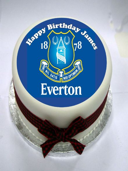 Everton Edible Cake Topper